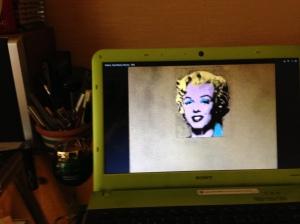 Gold Marilyn, 1962 001